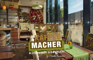 Frühstück, Essen und Trinken, Kaffee und Kuchen im Cafe Die Kaffeemacher in den Stadtgalerien in Schwaz in Tirol