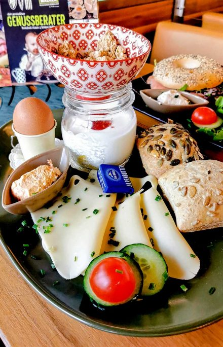 Body Shaping Frühstück im Cafe Die Kaffeemacher in der Stadtgalerie in Schwaz