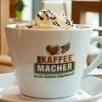 Chiocco im Cafe Die Kaffeemacher in der Stadtgalerie in Schwaz