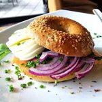 Good Morning Bagel im Cafe Die Kaffeemacher in der Stadtgalerie in Schwaz