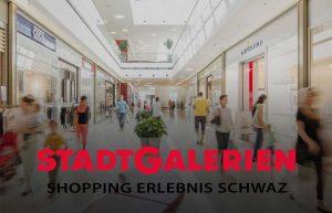Stadtgalerie Shoppingerlebnis in Schwaz in Tirol
