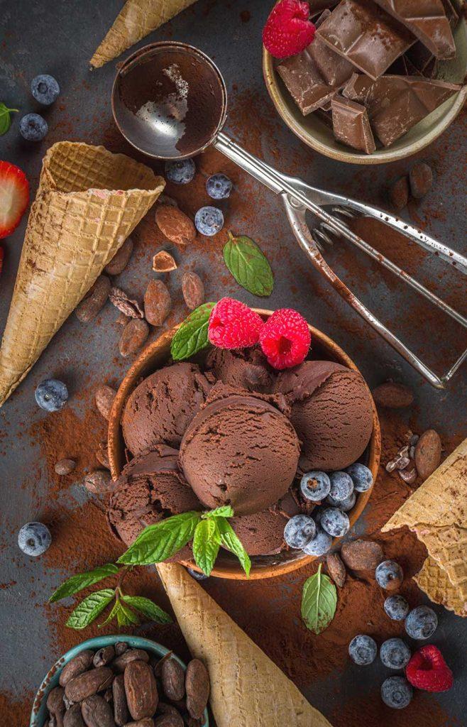 Italienisches Eis und Dolce Vita auf unserer Terrasse